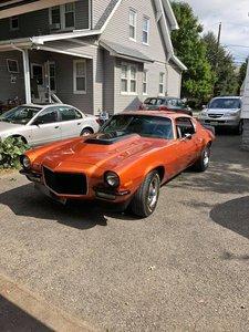 1971 Chevrolet Camaro (Totowa, NJ) $25,000