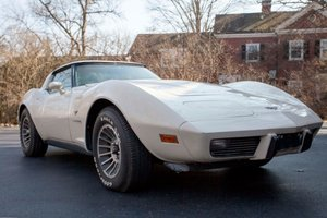 1979 Chevrolet Corvette Coupe = All Ivory 36k miles Auto $16 For Sale