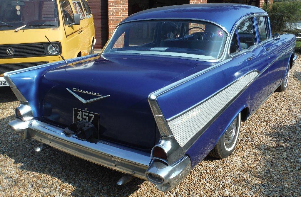 1957 Chevrolet (Chevy) Bel Air 4 door sedan SOLD  For Sale (picture 2 of 6)