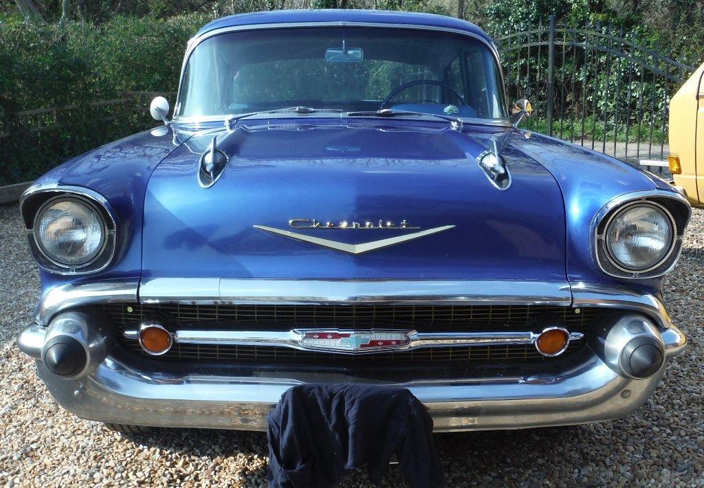 1957 Chevrolet (Chevy) Bel Air 4 door sedan SOLD  For Sale (picture 3 of 6)