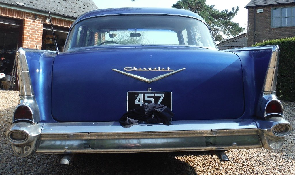 1957 Chevrolet (Chevy) Bel Air 4 door sedan SOLD  For Sale (picture 4 of 6)
