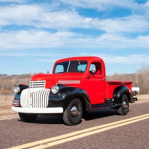 1946 Chevy Series-CK ½-ton 3100 Pickup Truck = $24.9k