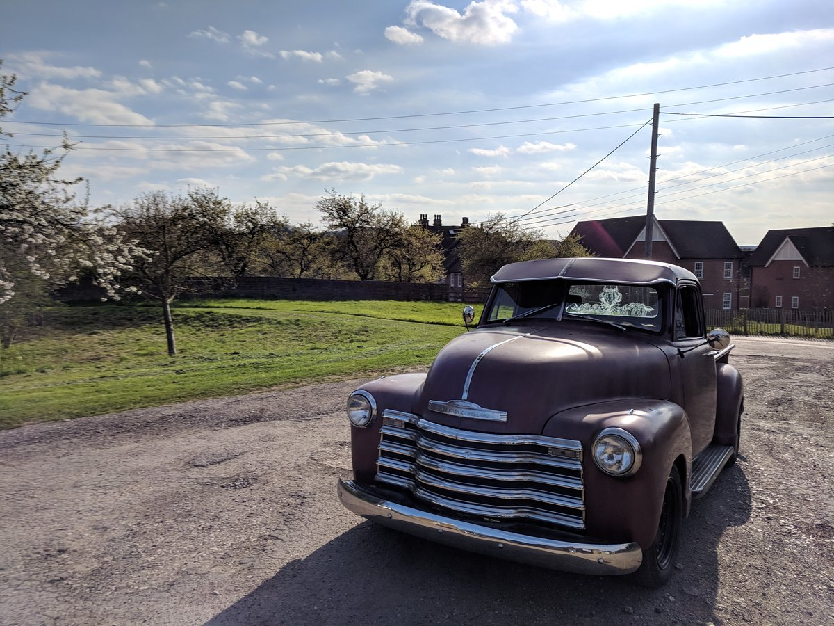 1953 '53 Chevy V8 pickup For Sale (picture 1 of 6)