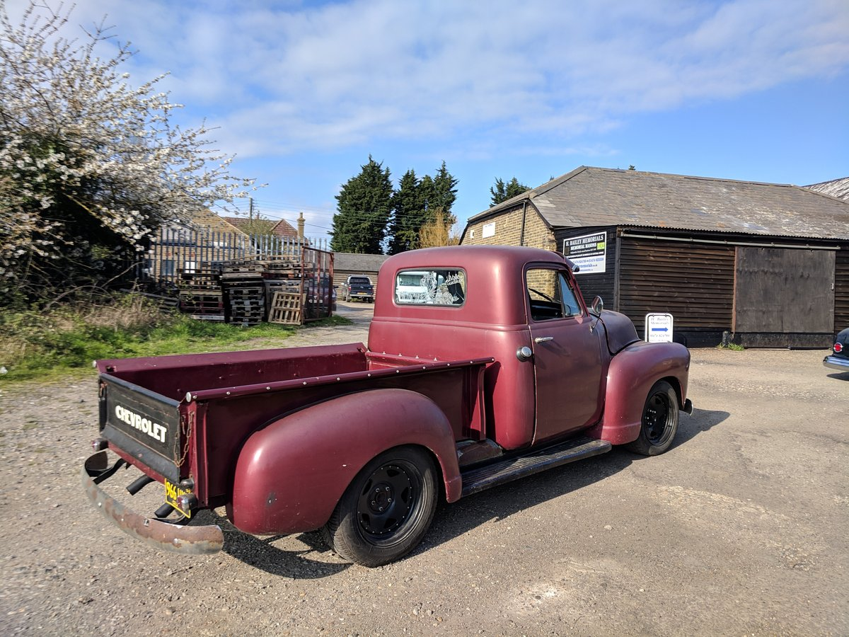 1953 '53 Chevy V8 pickup For Sale (picture 4 of 6)