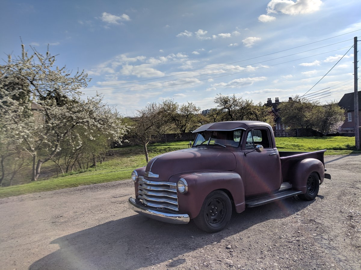 1953 '53 Chevy V8 pickup For Sale (picture 5 of 6)