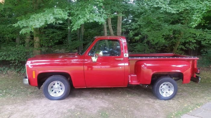 1982 Chevy Stepside Truck For Sale (picture 2 of 6)