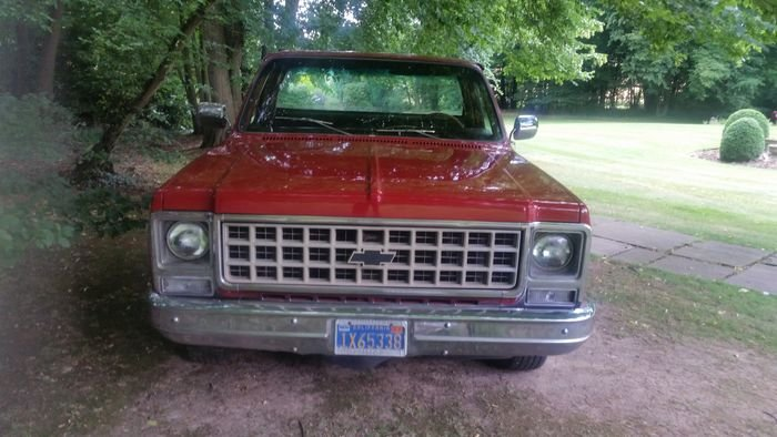 1982 Chevy Stepside Truck For Sale (picture 3 of 6)