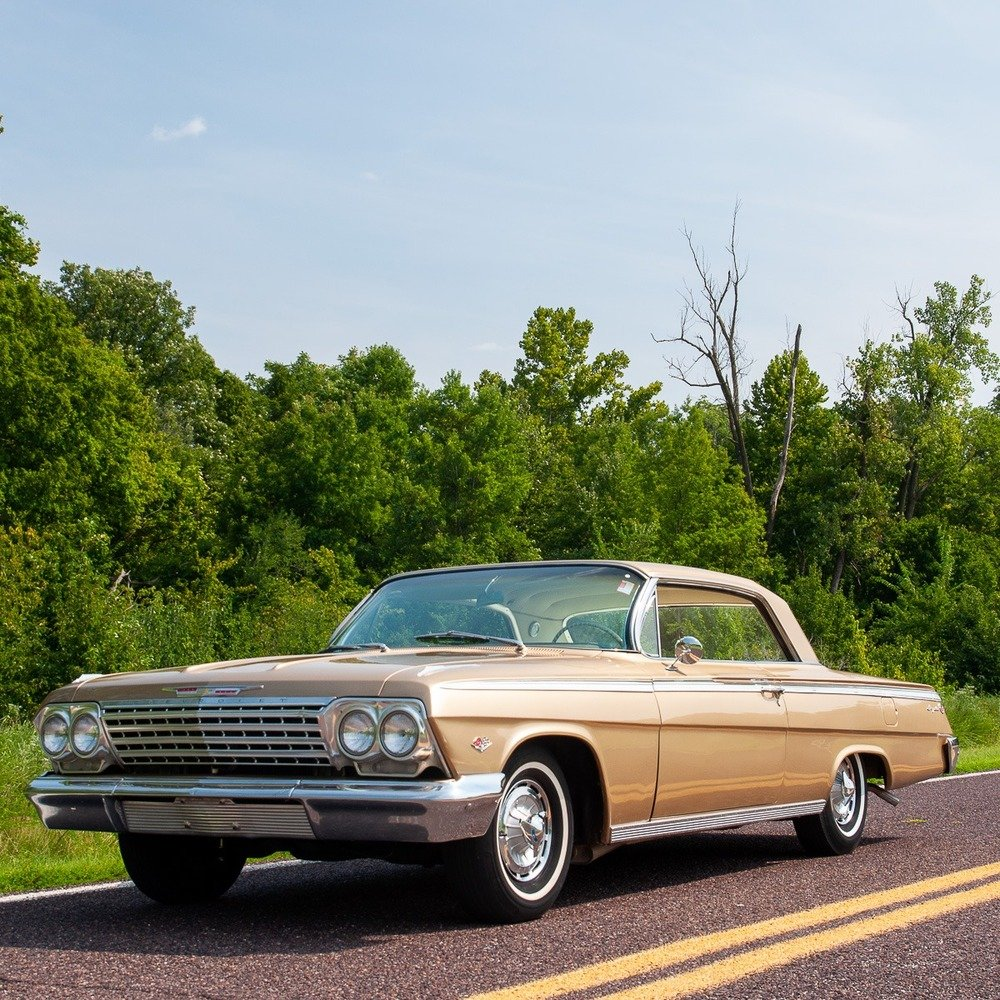 1962 Impala Golden Anniversary SS = Rare 1 of 324 = $41.5k For Sale (picture 1 of 5)