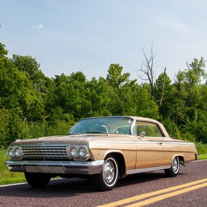 1962 Impala Golden Anniversary SS = Rare 1 of 324 = $41.5k For Sale