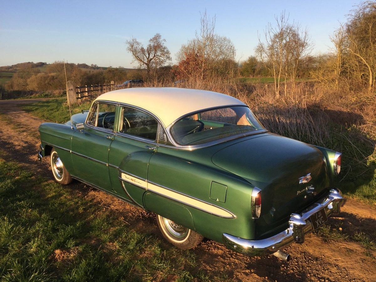 Chevrolet Bel Air Sedan 1954 For Sale (picture 2 of 6)