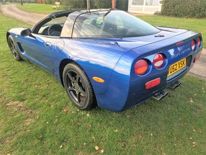 2002 02/52 CORVETTE C5 FASTBACK TARGA+RARE 6 SPD MANUAL For Sale