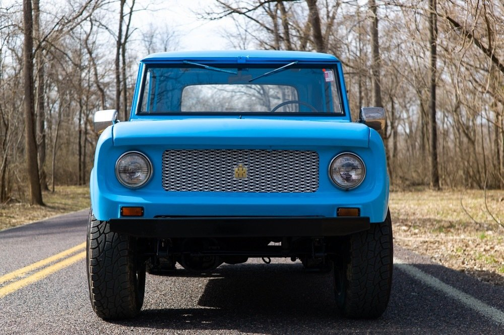1965 International Harvester Scout 80 4×4 = Blue driver $obo For Sale (picture 2 of 6)