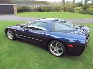 2002 CHEVROLET CORVETTE EU/UK C5.