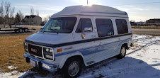 1995 GMC Vandura 3500 (1 ton chassis) Conversion Van $15.9k