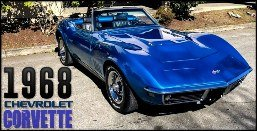 1968 Corvette Roadster = Correct 427 Restored 4 speed $79.9k