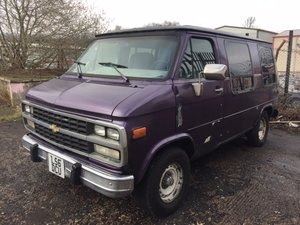 1994 Chevrolet G20 Day Van Project For Sale