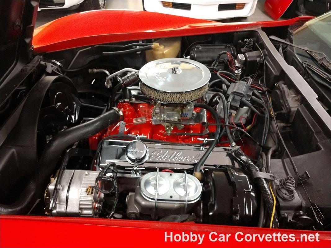 1977 red Corvette Black Interior Automatic For Sale (picture 3 of 6)