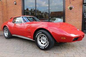 1975 Chevrolet Corvette Stingray 350 V8  For Sale