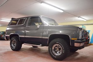 1988 Chevrolet Blazer – Offered at No Reserve: 13 Apr  For Sale by Auction