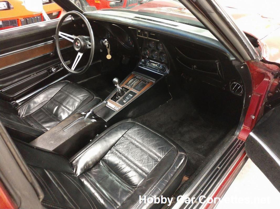 1974 Medium Red Corvette L82 4spd For Sale (picture 6 of 6)