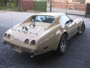 1977 Chevrolet Corvette  C3 5.7 T-ROOF  31646 Miles TAN BUCKSKIN For Sale