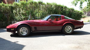 1981 Chevrolet Corvette 27,000 miles and original  For Sale