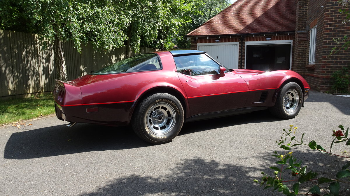 1981 Chevrolet Corvette low miles and original For Sale (picture 2 of 6)