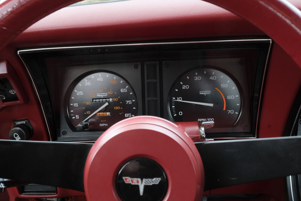 1981 Chevrolet Corvette low miles and original For Sale (picture 5 of 6)