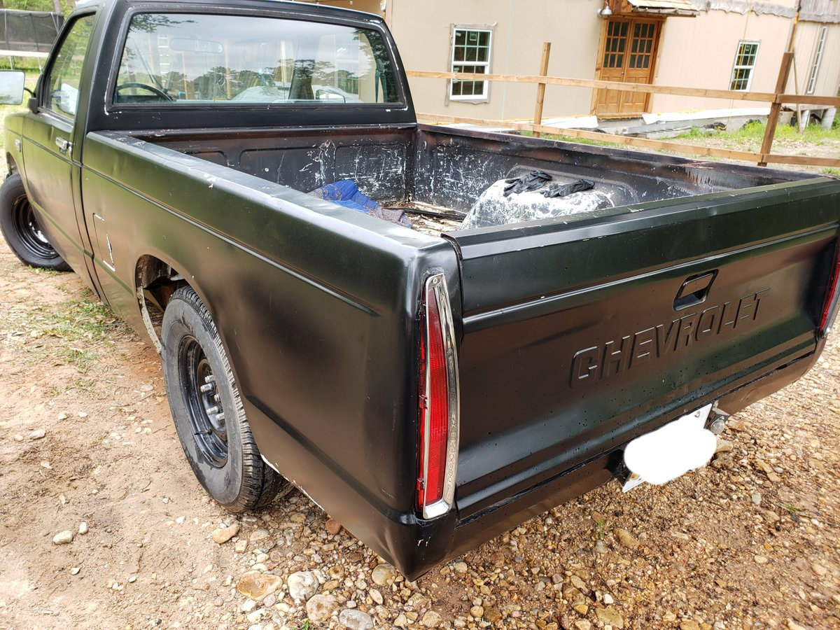 1987 Chevy s10 2.8v6 custom rat For Sale (picture 3 of 6)