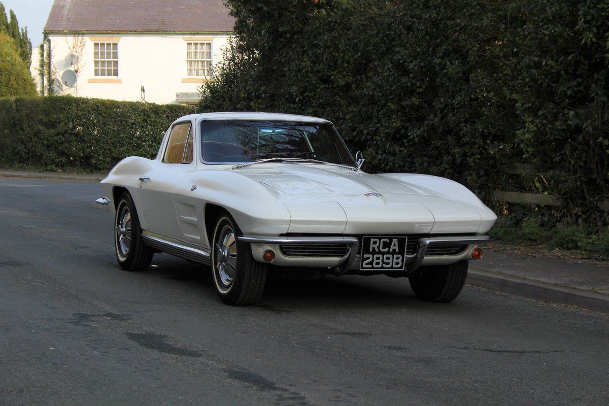1964 Chevrolet Corvette Stingray Coupe - Manual, Matching No's SOLD (picture 1 of 12)