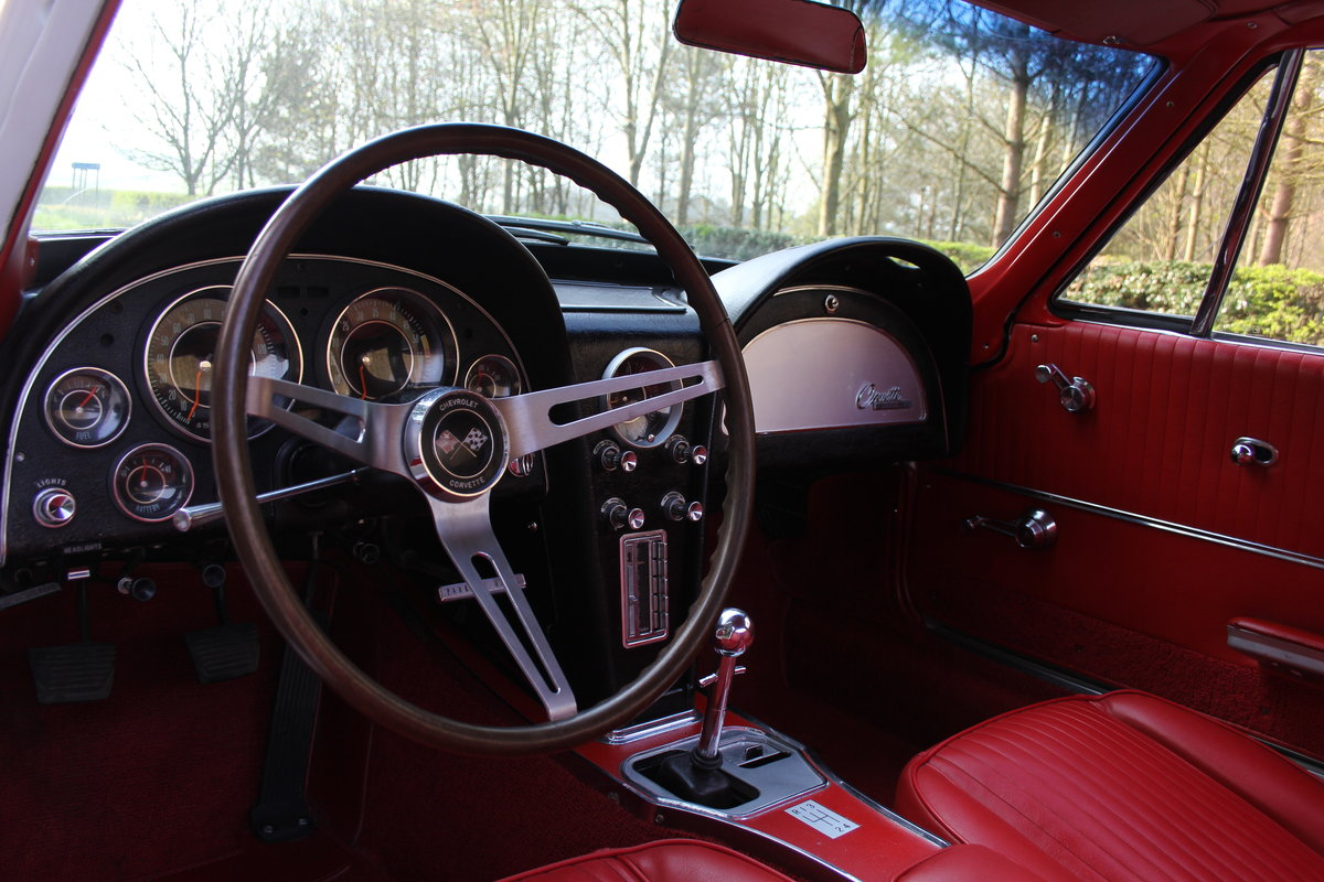 1964 Chevrolet Corvette Stingray Coupe - Manual, Matching No's SOLD (picture 6 of 12)