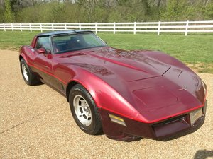 1981 Corvette Coupe with mirror'd T-tops 49k miles For Sale