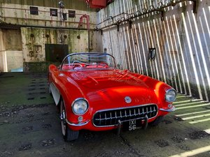 Corvette C1 Convertible 1956,fully restored For Sale