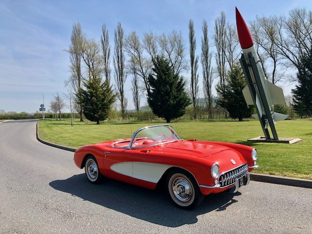 Corvette C1 Convertible 1956,fully restored For Sale (picture 5 of 6)