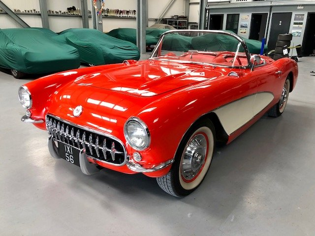 Corvette C1 Convertible 1956,fully restored For Sale (picture 6 of 6)
