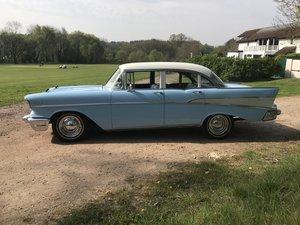 1957 Chevrolet bel air 4 door