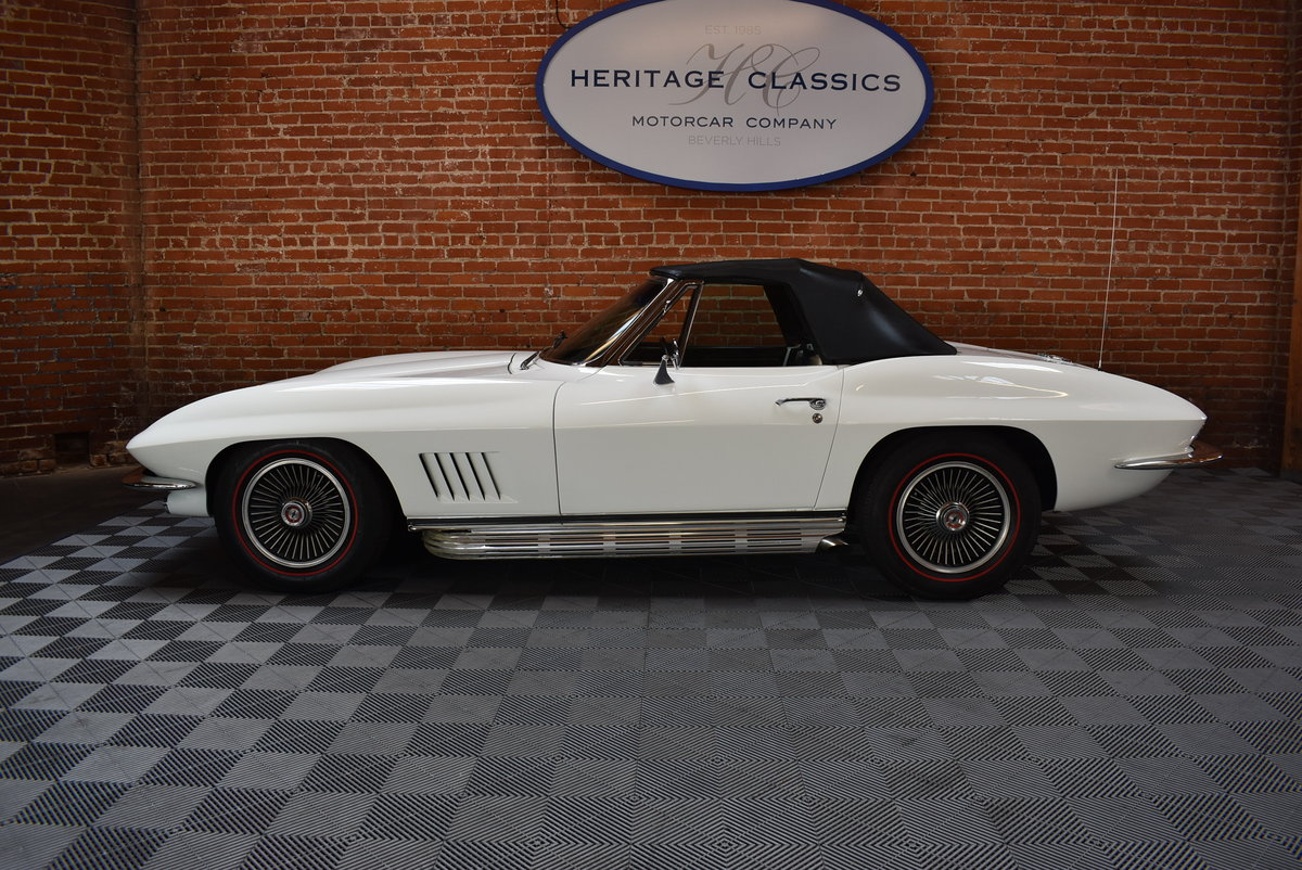 1967 Chevrolet Corvette Stingray Roadster For Sale (picture 2 of 6)