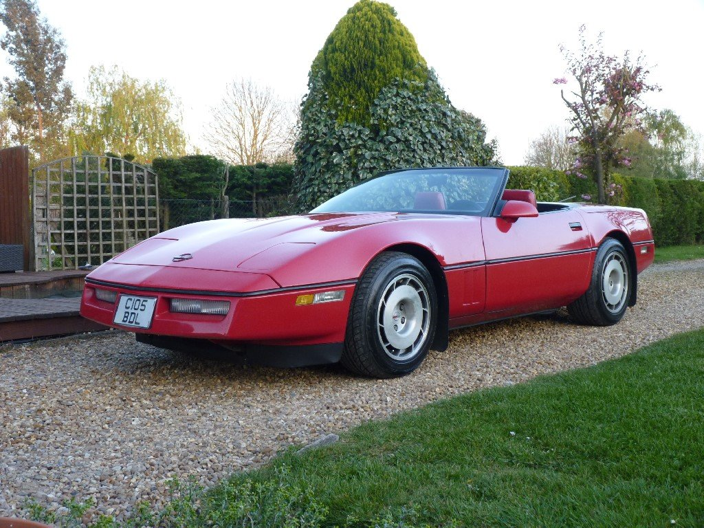 1986 Chevrolet Corvette Indy Convertible Absolutely Stunning For Sale (picture 1 of 6)