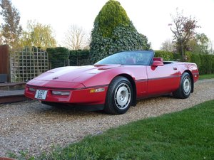 1986 Chevrolet Corvette Indy Convertible Absolutely Stunning For Sale