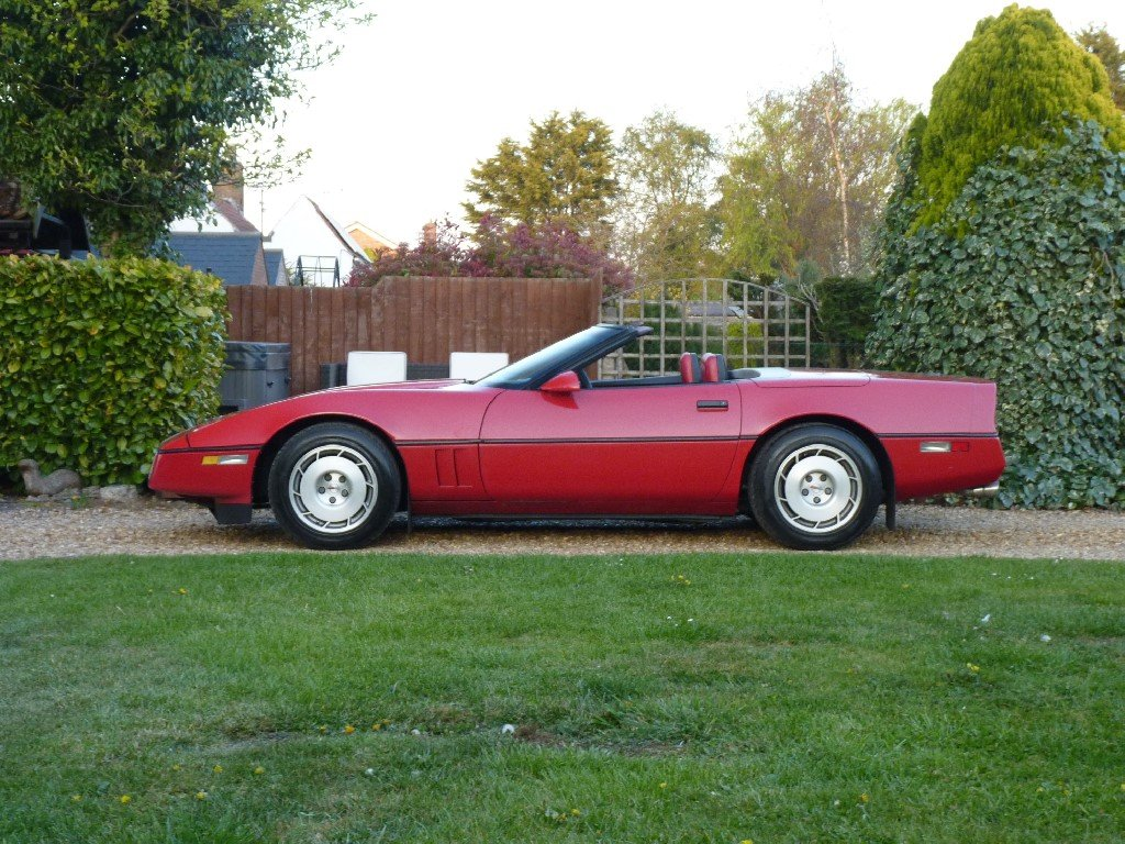 1986 Chevrolet Corvette Indy Convertible Absolutely Stunning For Sale (picture 2 of 6)