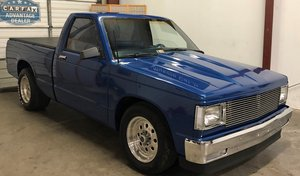 1983 V8 powered  S10 Pickup Show Truck For Sale