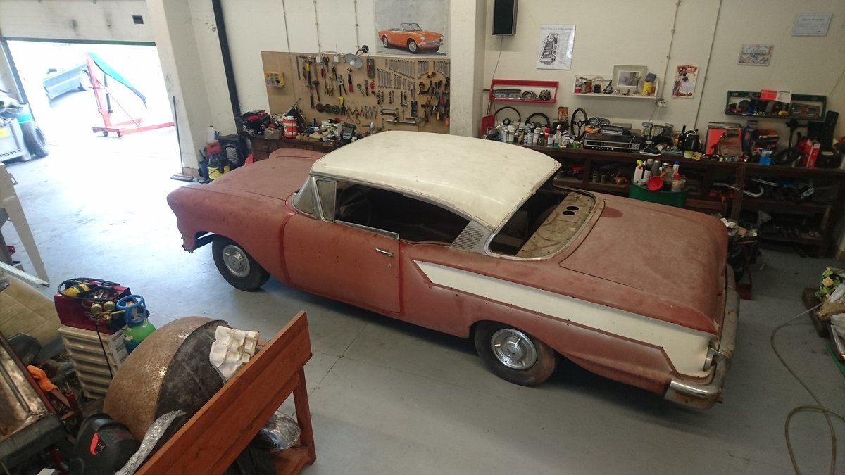1958 Bel Air 2 door hardtop Coupe For Sale (picture 1 of 6)