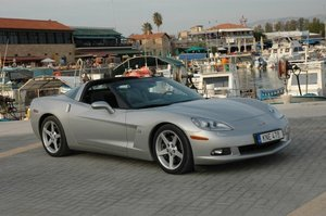 2005 C6 Corvette coupe