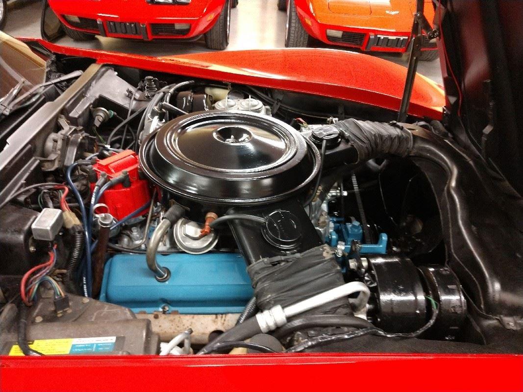 1980 Red Corvette Tan Interior For Sale For Sale (picture 3 of 6)