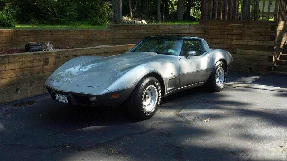 1978 Chevrolet Corvette Silver Anniversary Edition For Sale (picture 1 of 6)