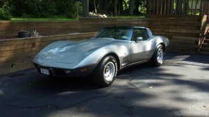 1978 Chevrolet Corvette Silver Anniversary Edition For Sale