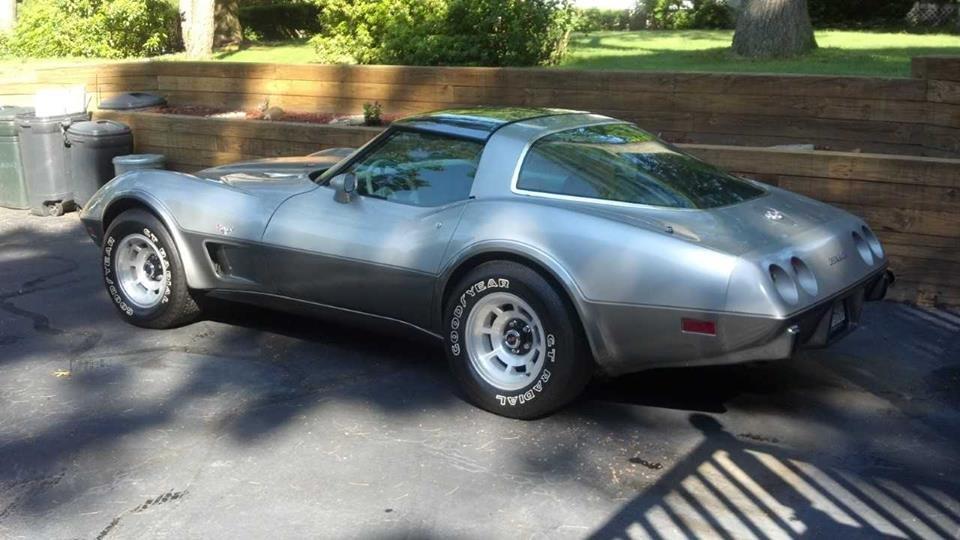 1978 Chevrolet Corvette Silver Anniversary Edition For Sale (picture 2 of 6)