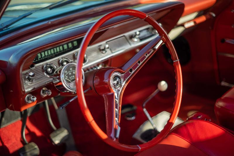 1962 Chevy Impala SS 409 = Correct Restored Manual $49.5k For Sale (picture 4 of 6)