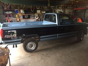 1990 Chevrolet 3/4 ton Pick-Up truck $9,600 For Sale
