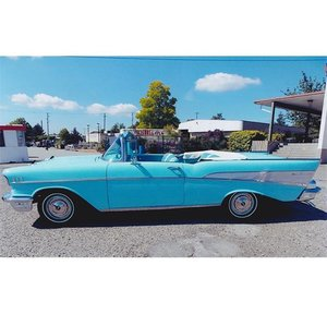 1957 Chevrolet Bel Air Convertible For Sale